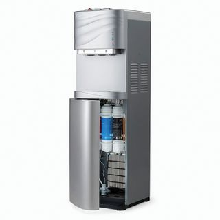 AEL LC-AEL-540S water purifier, floor, WATER/COOL, 1 tap (3 buttons), silver
