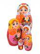Author's matryoshka 5 dolls - вид 1