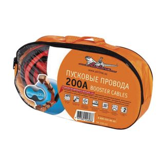 AIRLINE / Battery lighting wires, 200 A, 2 m, 12 V, bag