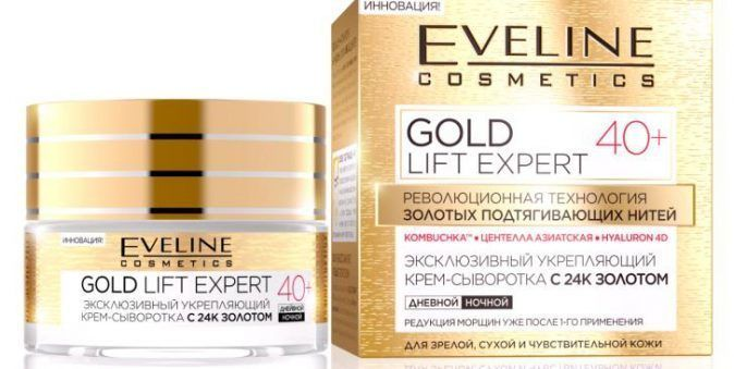 Exclusive firming serum with 24K gold, 40+ series gold expert lift, Nivea, 50 ml