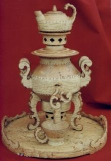 "Tea set with samovar ""Aglay"", capacity 5 l"