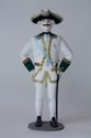 Doll gift. Admiral. The military uniform. The 2nd half of the 18th century. Russia. - view 1