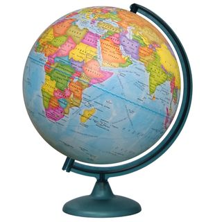 Political globe with a diameter of 320 mm