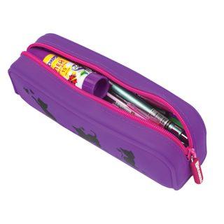 Pencil case-cosmetic bag BRAUBERG, silicone,