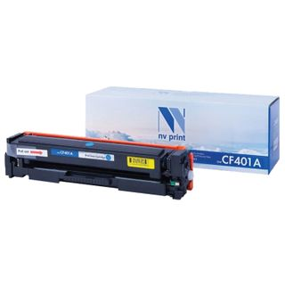 Toner Cartridge NV PRINT (NV-CF401A) for HP M252dw / M252n / M274n / M277dw / M277n7, cyan, yield 1400 pages