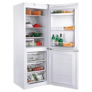 INDESIT EF 16 fridge, 256 litres total, 75 litre lower freezer, 60x64x167cm, white