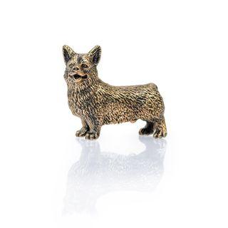 Dog CORGI sculpture