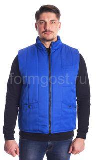 Vest Comfort padded cornflower