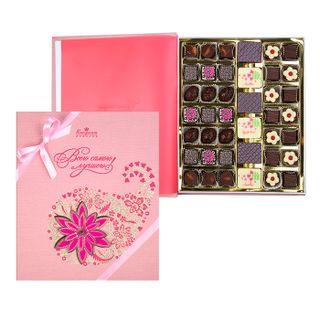 "Book with handmade chocolates ""Chocolate story"""