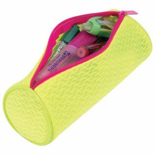 Pencil case-tube BRAUBERG, mesh,