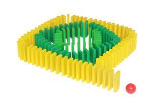 "Krasnokamsk toy / Constructor ""Domino Effect"""
