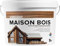 Maison Bois - water-dispersion paint-lazure for protection of wooden products
