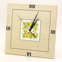 Craft / Wall clock, square, 250x250