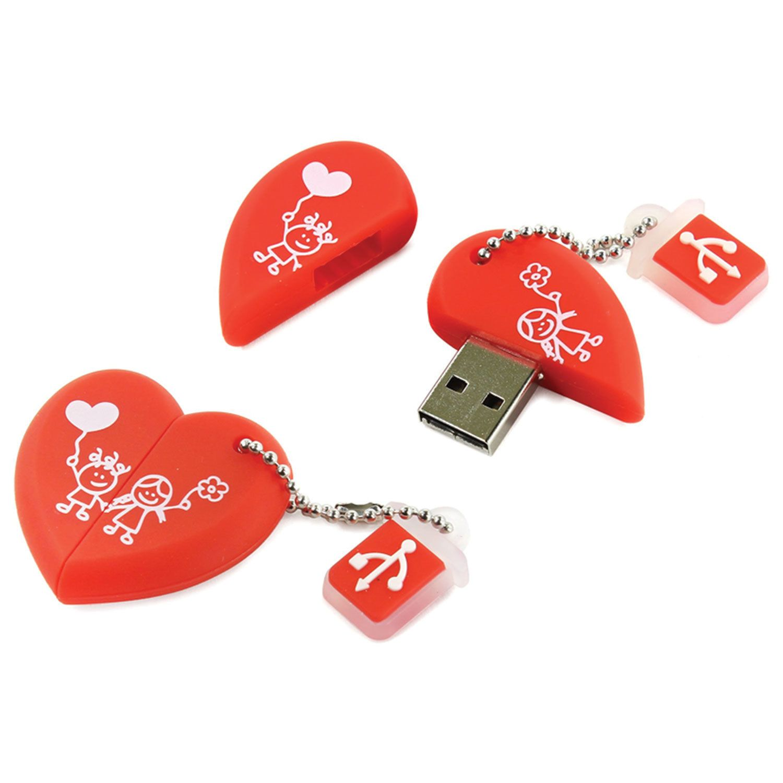 "SMARTBUY / Souvenir flash drive 16 GB, Wild ""Heart"", USB 2.0"