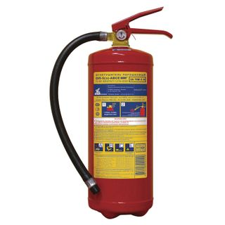 MIG / 07 / Powder fire extinguisher OP-5, ABCE (solid, liquid, gaseous substances, electrical installations)