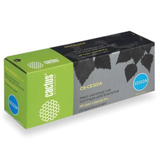 Toner Cartridge CACTUS (CS-CE322A) for HP LaserJet M1415FN / FNW / CP1525N, yellow, yield 1300 pages.