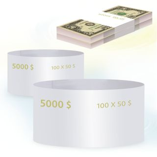 THE LATEST TECHNOLOGIES / Ring parcels, set of 500 pcs., Denomination of 50 dollars