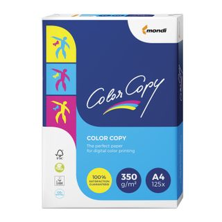COLOR COPY / A4 paper, 350 gsm, 125 sheets, for full color laser printing, A ++, Austria, 161% (CIE)