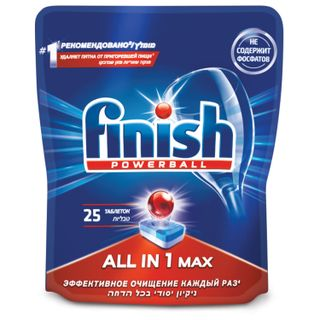 Dishwasher tablets 25 pieces FINISH