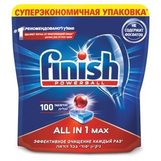 Dishwashing tablets in dishwashers 100 pieces, FINISH