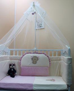 """Hedgehog Vasyutka"" Ш4100 - CHILDREN'S SET IN THE BED"
