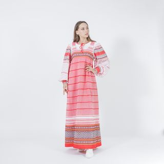 "Women's folk sundress ""Zorka"""