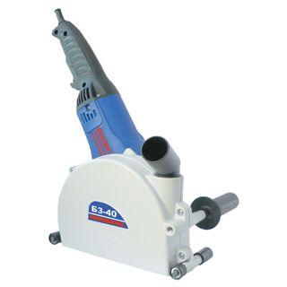 Strobez B3-40, 1600 W, 9000 rpm, 150 mm disc, groove depth 40 mm, width 40 mm, FIOLENT