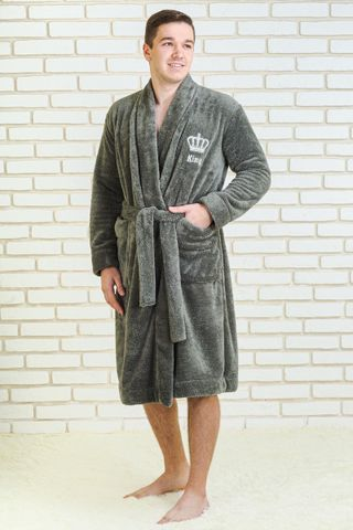 Bathrobe men's King Art. 6200