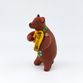 Clay toy Bear with violin 8.5 x 12.5 x 8, Dymkovo toys - view 2