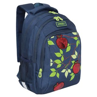 GRIZZLY backpack school, anatomical backrest, sequins,