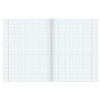 Notebook GREEN cover, 12 sheets HATBER, offset, cell fields