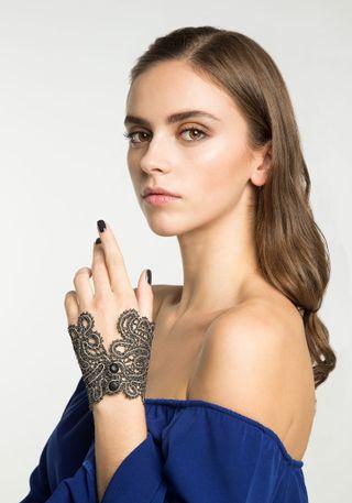 Lace bracelet cuff
