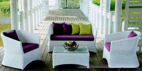 A set of rattan funiture - SF04