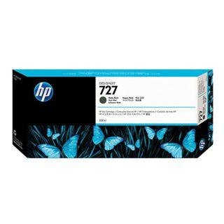 Inkjet cartridge for HP (C1Q12A) Designjet T920 / 1500, # 727, black matte, 300 ml, original
