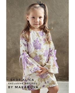 """Dress for girls """"by Makarova"""""""