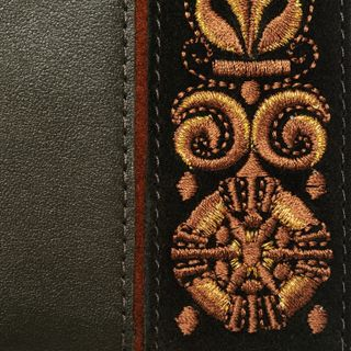 "Passport cover leather handmade ""Astrid"""