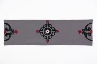 LA`AL Textiles / Table runner - light gray (a), bed covers (6pcs)