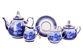 Dulevo porcelain / Tea set 15 pcs. Blooming garden RT Gold - view 1