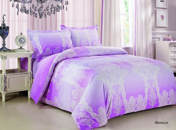 Satin bed linen 3D Baroque