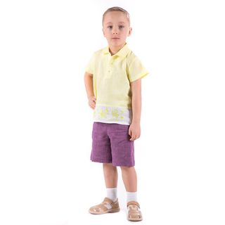 Shorts Jungle purple