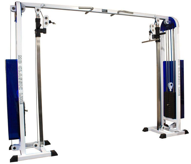 MB Barbell / Crossbar adjustable (Crossover) (weight block)