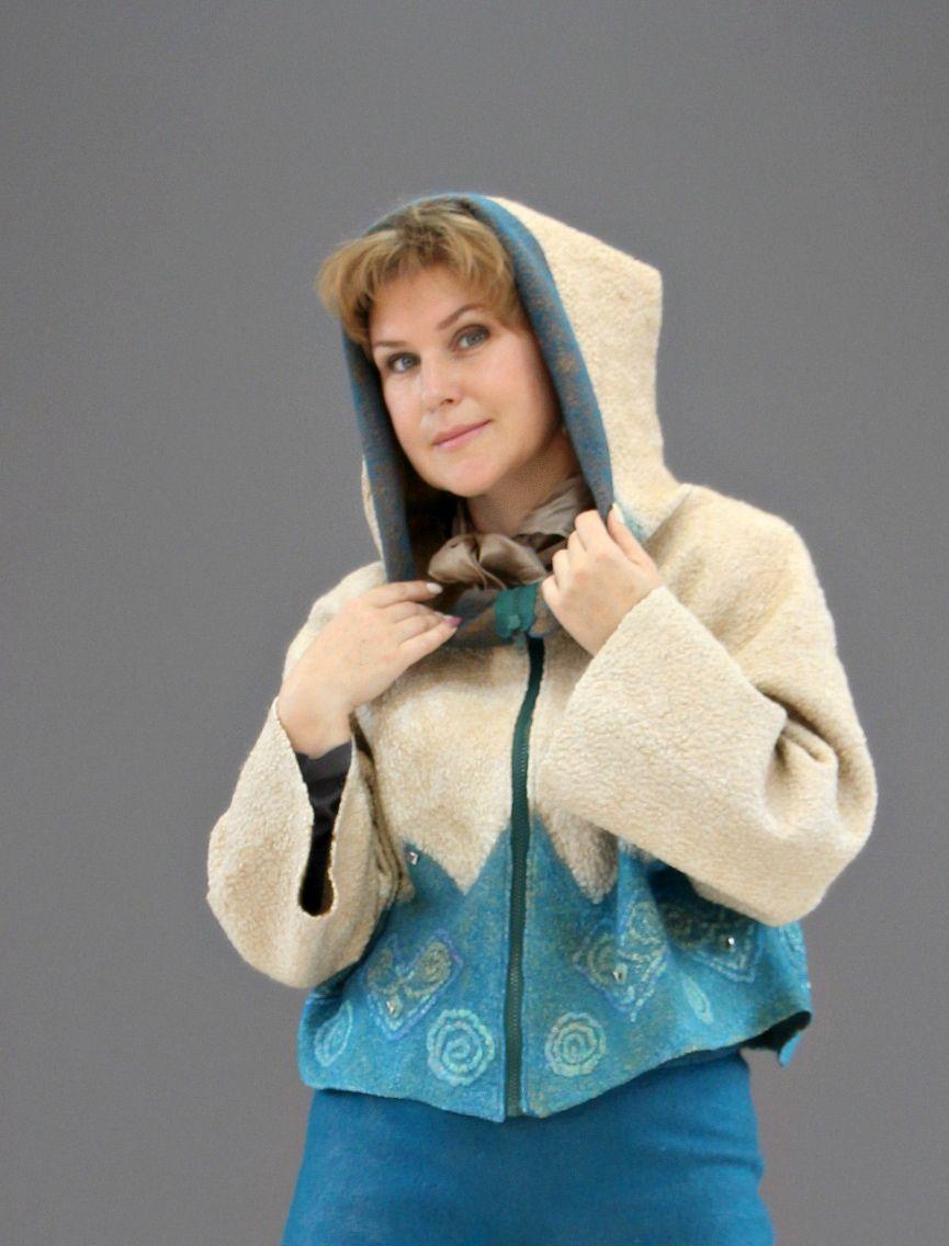 """Kudelka / Jacket """"Gnome"""" merino wool"""