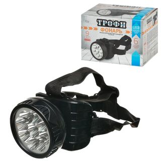 TROPHY / LED headlamp TG9, 9xLED, charge from 220 V
