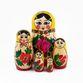 Russian woman - traditional nesting doll, 5 dolls - вид 2