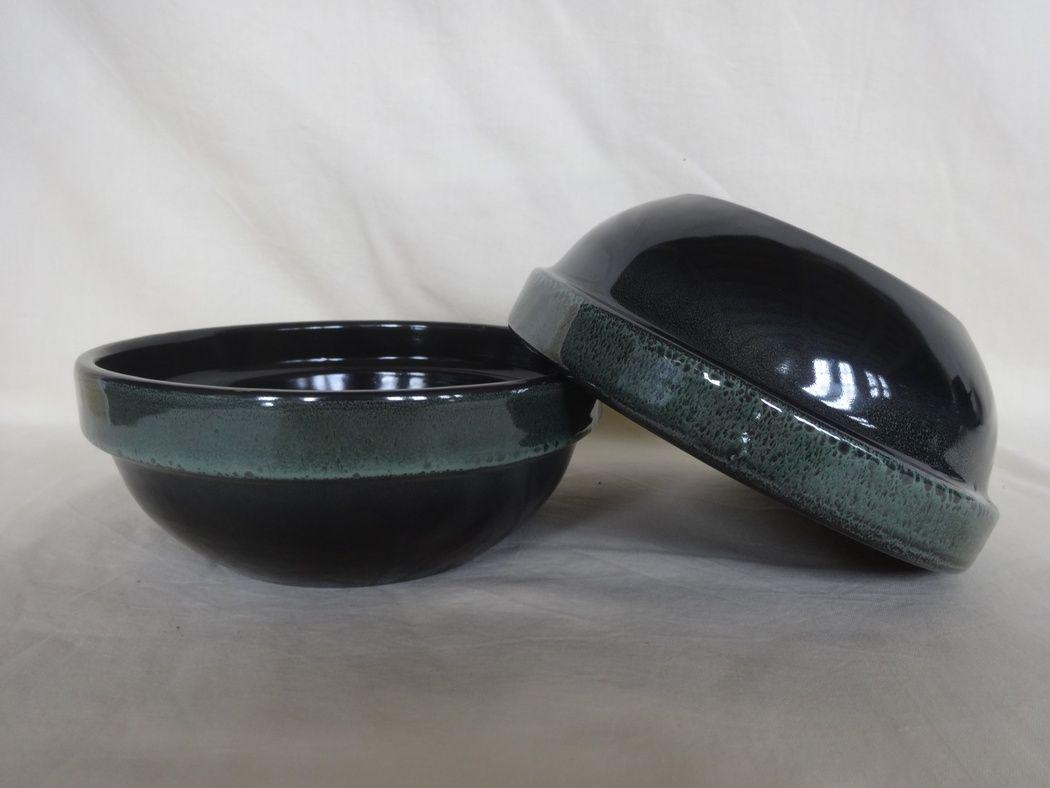 "Horex / Plate ""Verde Notte"" zuppa 12 pcs."