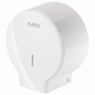 LIME / Toilet paper dispenser PROFESSIONAL ORIGINAL (T2 System), small, white, ABS plastic