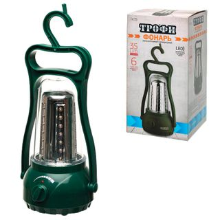 TROPHY / LED Flashlight TK35, 35 x LED, rechargeable camping, charge from 220 V