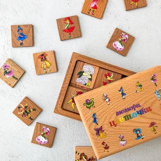 "Memori ""Flowers"" in a wooden box"