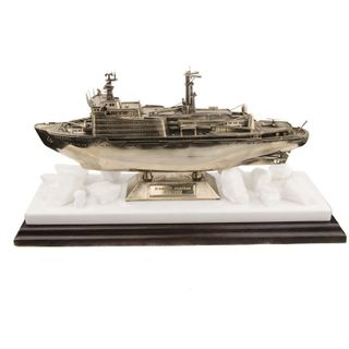 Scale replica of the atomic icebreaker
