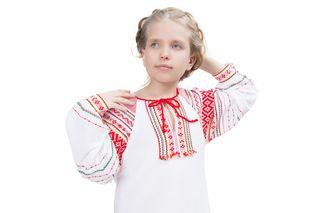 Blouse, shirt under a sundress children